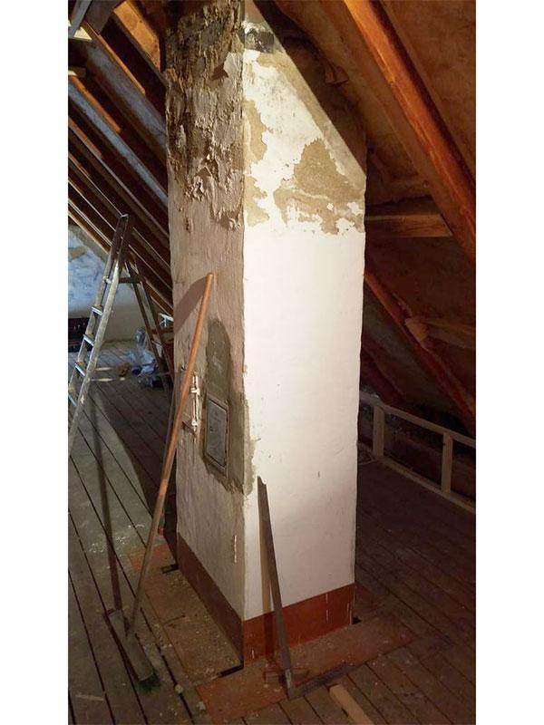 Merching - Dachgeschoss vorher